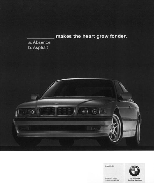 BMW asphalt