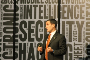 CSO Dr. Christopher Pierson speaking at SecureWorld Expo 2015