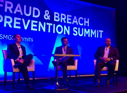 CSO Dr. Christopher Pierson speaking at ISMG Fraud & Breach Prevention Summit 2017